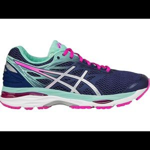 Women's ASICS 7.5 gel cumulus 18 running shoes
